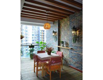 80平米三室一厅地中海风格阳光房装修案例
