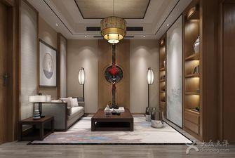 20万以上140平米别墅中式风格衣帽间鞋柜装修案例