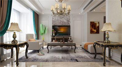 130平米三新古典风格客厅装修效果图