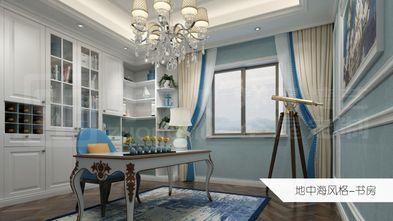 130平米四室两厅地中海风格书房效果图