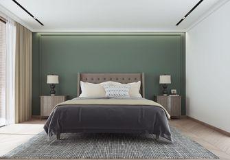 140平米复式混搭风格卧室装修效果图