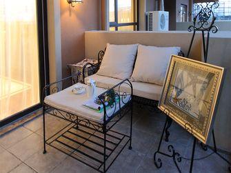 50平米一室两厅地中海风格阳台图片