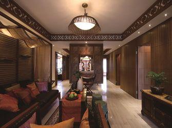 80平米东南亚风格客厅图