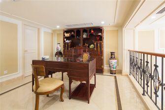 豪华型140平米别墅法式风格书房图片