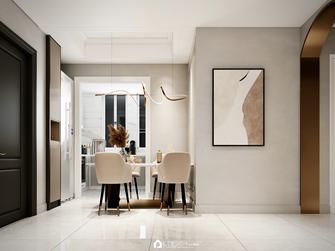 100平米三室两厅法式风格餐厅效果图