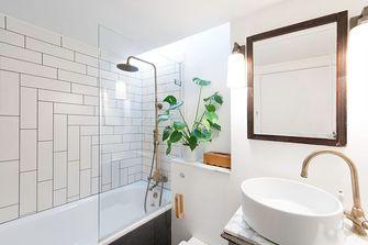 70平米一室一厅新古典风格卫生间欣赏图