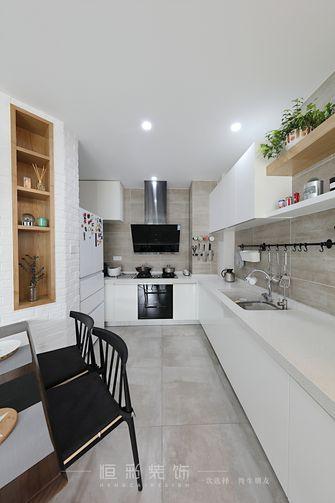 80平米三室两厅北欧风格厨房图片大全