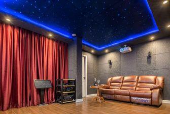 140平米复式混搭风格影音室装修图片大全