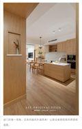 140平米三室两厅日式风格走廊装修效果图