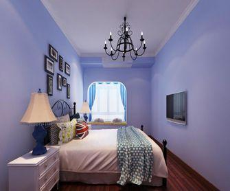 130平米四室一厅地中海风格卧室欣赏图