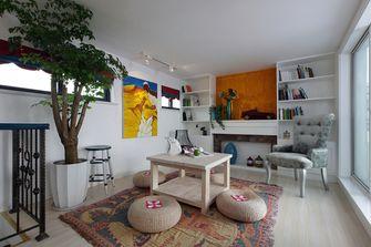 100平米复式东南亚风格阳光房设计图