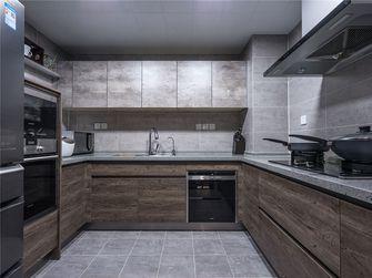 120平米三室三厅现代简约风格厨房设计图