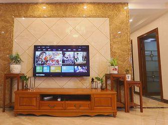 富裕型90平米三室一厅英伦风格客厅图
