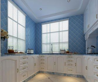 140平米别墅地中海风格厨房欣赏图