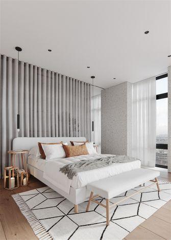 90平米一居室北欧风格卧室效果图