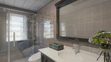80平米新古典风格卫生间图片