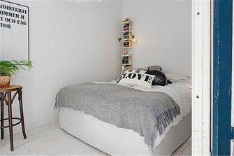 50平米一室一厅混搭风格卧室效果图