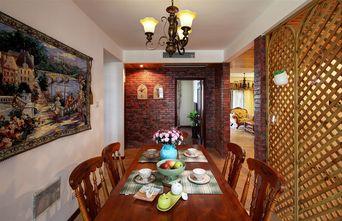 120平米三室一厅地中海风格餐厅设计图