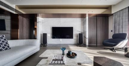 140平米四室三厅地中海风格客厅欣赏图