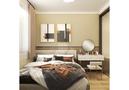 40平米小户型日式风格卧室欣赏图