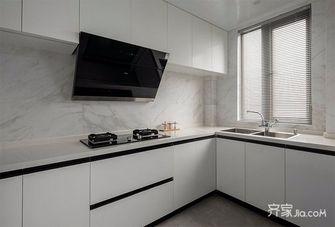 经济型90平米三室一厅英伦风格厨房装修图片大全