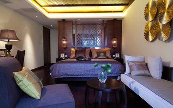 140平米别墅东南亚风格卧室图