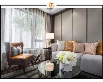经济型70平米一室一厅现代简约风格阳光房设计图