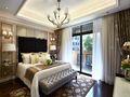 120平米四室两厅新古典风格卧室设计图