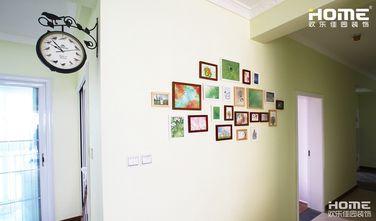 110平米三室两厅田园风格走廊装修图片大全