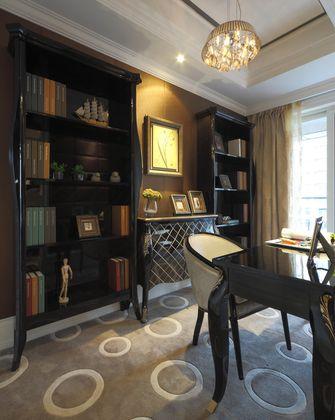 90平米三室两厅新古典风格书房欣赏图
