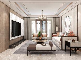110平米三室两厅中式风格客厅装修效果图