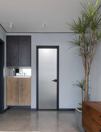 50平米一居室现代简约风格玄关装修图片大全