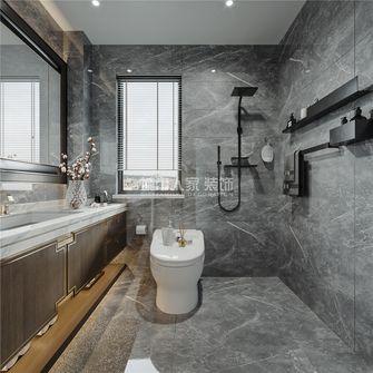 130平米三室两厅新古典风格卫生间图片