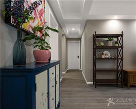富裕型90平米三室兩廳美式風格走廊圖片