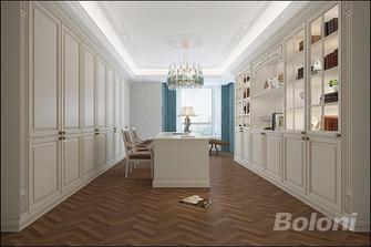 120平米三室一厅欧式风格衣帽间装修案例