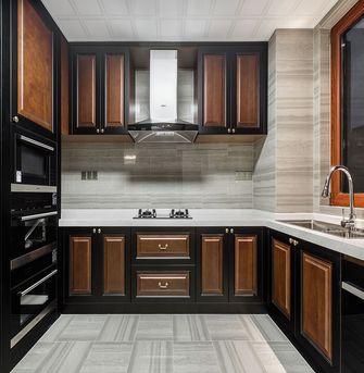 110平米四室一厅中式风格厨房欣赏图