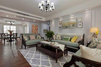 120平米四室两厅田园风格客厅效果图