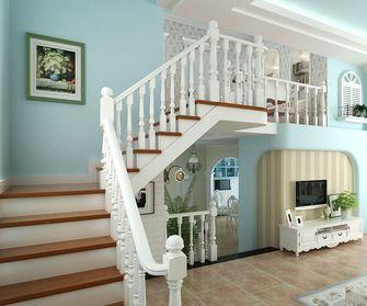 经济型80平米田园风格楼梯效果图