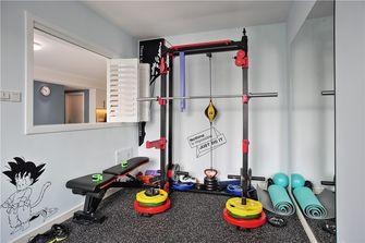 120平米三室两厅现代简约风格健身室装修案例
