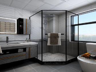 120平米三室一厅混搭风格卫生间欣赏图