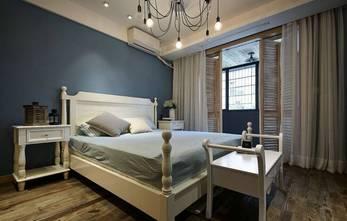 130平米三室一厅田园风格卧室图片大全