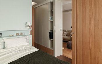 80平米一室两厅现代简约风格卧室效果图