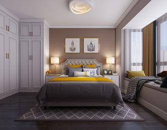 60平米一室一厅美式风格卧室效果图