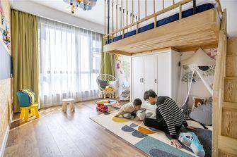 120平米三室两厅日式风格儿童房图片