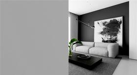 經濟型140平米四室一廳現代簡約風格客廳裝修案例