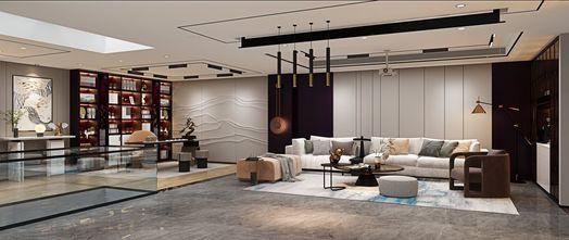 80平米一室一厅混搭风格客厅装修效果图