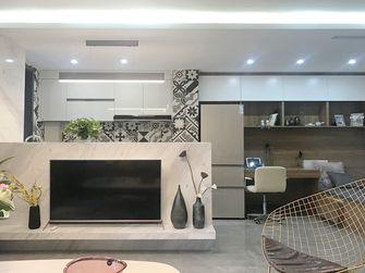 50平米一居室宜家风格影音室设计图