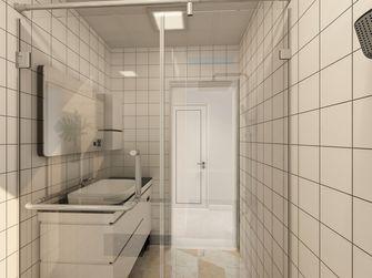 90平米三室一厅北欧风格卫生间装修效果图