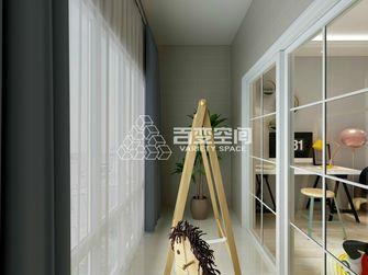 120平米三田园风格走廊装修效果图