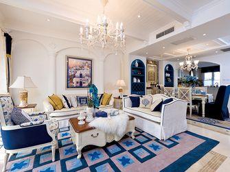 140平米四室一厅地中海风格客厅装修图片大全